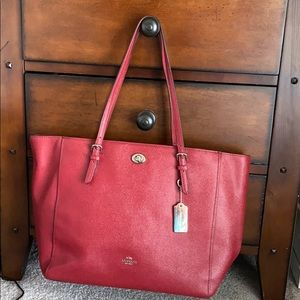 Coach Bag (Red, Large)